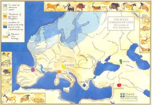 Origins of European Clan Mothers